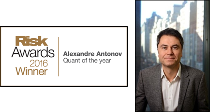 Alexander Antonov, PhD, Senior Vice President of Quantitative Research, Numerix